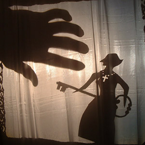 Shadows from The Cherry Orchard di Nori Sawa (photo: puppet-house.co.jp)