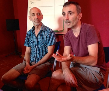 Martin Chaput e Martial Chazallon a Terni (photo: Annett Maaß)
