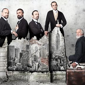 I protagonisti della Lehman Trilogy (photo: Luigi LaSelva)