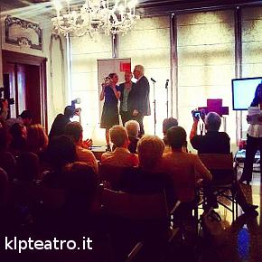La premiazione di Anne Teresa De Keersmaeker (photo: Rita Borga)