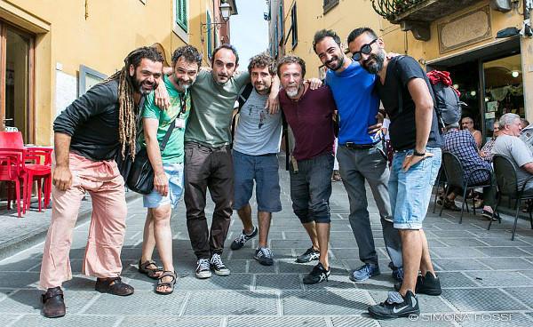 I rappresentanti delle sette compagnie di Rito (photo: Simona Fossi)