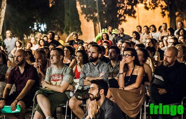 Il pubblico del Fringe, tra cui il nostro Luca Lotano