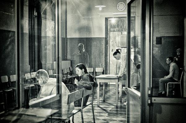 Un momento dello spettacolo (photo: Domenico Semeraro)