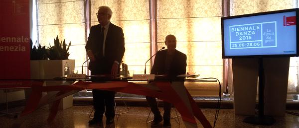 Baratta e Sieni in un momento della conferenza stampa