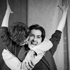 Jacopo Bicocchi e Mattia Fabris, protagonisti di (S)legati (photo: Ilaria Costanzo)