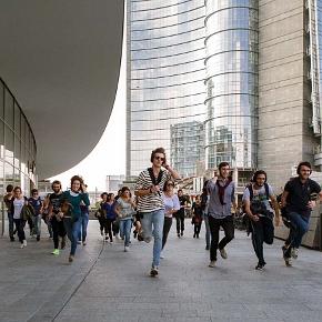 Un momento di corsa in Remote Milano (photo: zonak.it)
