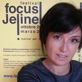 Elena di Gioia, direttrice artistica del Festival Focus Jelinek