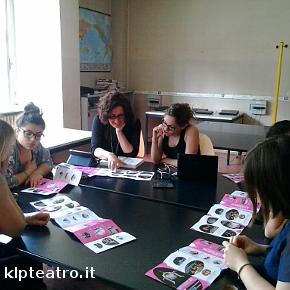 Un momento della scorsa edizione in classe, per presentare il programma di Interplay (photo: Klp)