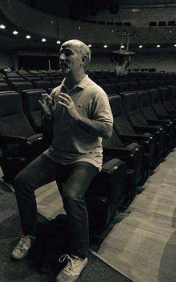 Marcello Magni al Teatro Principal di Guanajuato (photo: Federica Frillici)