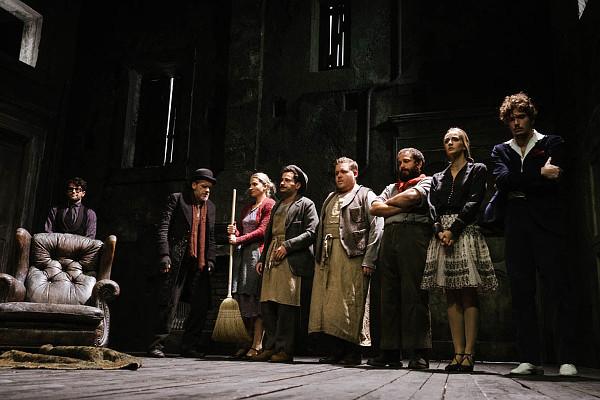 I protagonisti dell'Avaro (photo: teatrostabiletorino.it)