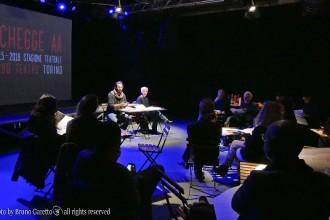La conferenza stampa di Schegge (photo: Bruno Garetto)La conferenza stampa di Schegge (photo: Bruno Garetto)