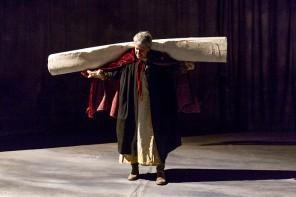 Silvia Pasello è Lear (photo: Roberto Palermo)