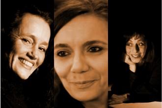 Valeria Cavalli, Donatella Diamanti e Renata Coluccini