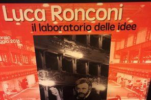 Luca Ronconi in mostra. Idee dietro le quinte a un anno dalla morte