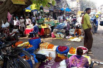Chandni Chowk, il mercato dei fiori (photo: Paola Pepe)