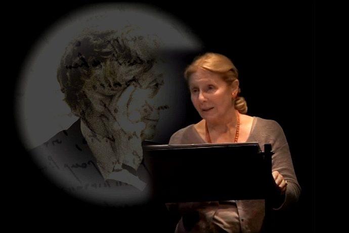 """Giulia Lazzarini in """"Le parole di Rita"""""""