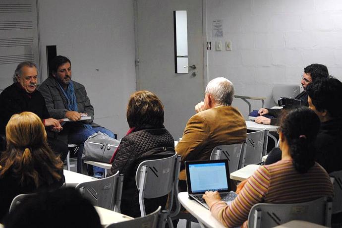 Seminario di Fabio Tolledi presso la UNESP - Università di San Paolo