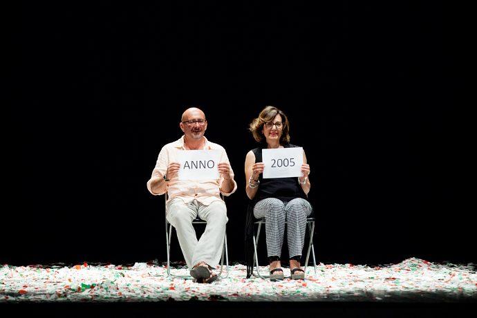 Sul palco del Supercinema di Santarcangelo anche Stefano Cipiciani e Cristina Valenti (photo: Ilaria Scarpa / Luca Telleschi)