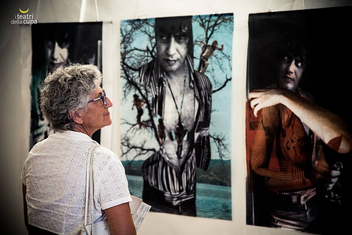 La mostra omaggio a Carmelo Bene (photo: Eliana Manca)