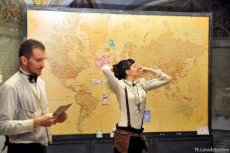 Il giro del mondo in 80 giorni di Teatro Sotterraneo (photo: Gabriele Acerboni)