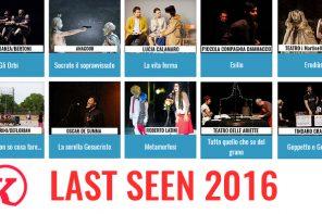 Last Seen 2016: comincia il conto alla rovescia!