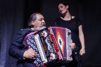 Biffi e Jovic in Patricia (photo: Diego Cantore)