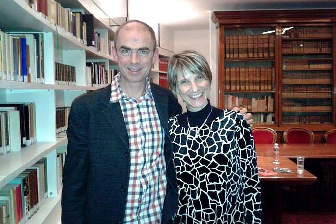 L'incontro fra Rossella Spinosa e John Hodge, autore di Trainspotting e Collaborators