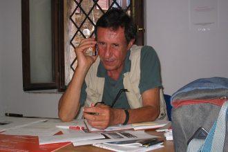 Nico Garrone nel luglio 2004 a Radicondoli