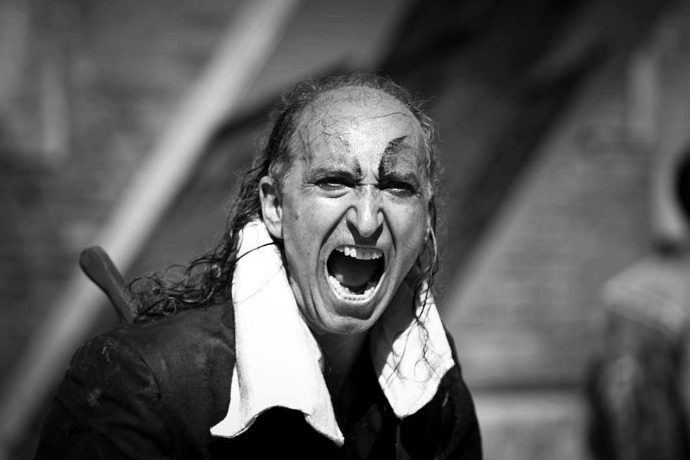 Armando Punzo in Mercuzio non vuole morire (photo: Carlo Gattai)