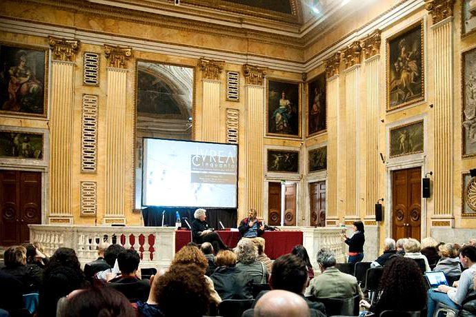 Pippo Delbono a Ivrea Cinquanta (photo: Teatro Akropolis)