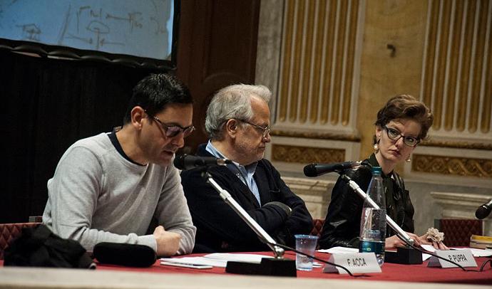 Fabio Acca, Paolo Puppa e Silvia Mei
