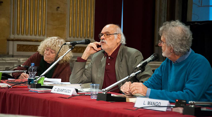 Carla Tatò, Carlo Quartucci e Lorenzo Mango