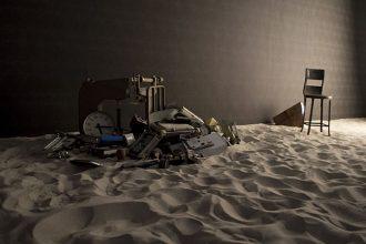 Camera #4 Il Naufragio di Cecilia Bertoni, Claire Guerrier con Carl G. Beukman (photo: Alice Mollica)