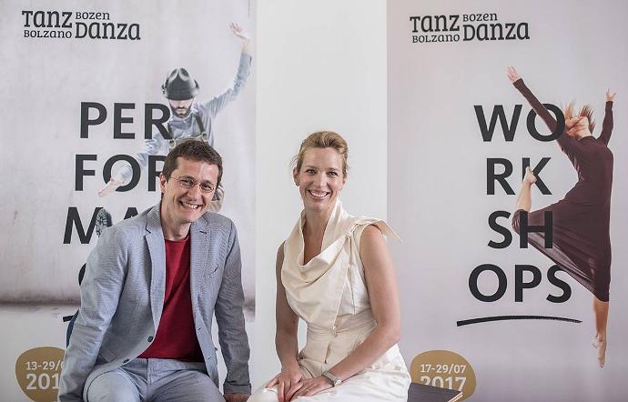 Emanuele Masi e Sharon Booth, alla direzione artistica del settore workhop