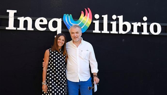 Angela Fumarola e Fabio Masi