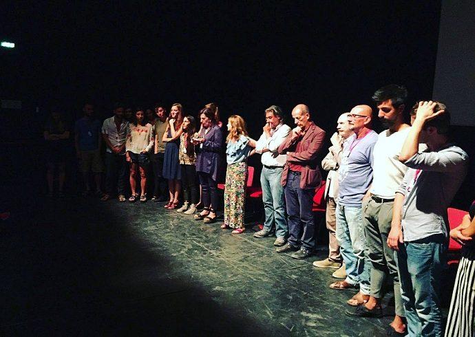 Un momento della premiazione di ieri sera (photo: Mario Bianchi)