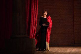 Adriana Asti al 60° Festival dei Due Mondi di Spoleto con Memorie di Adriana (photo: M. L. Antonelli)