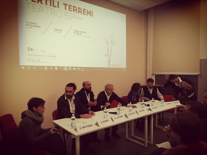 La conferenza stampa di presentazione della triplice alleanza per Fertili Terreni