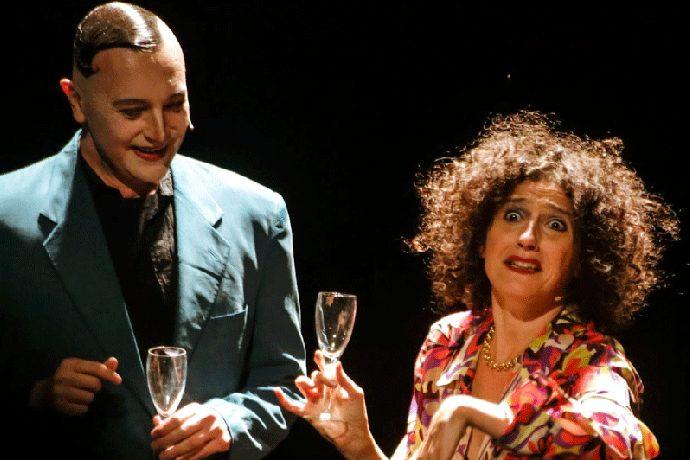 ErnestoTomasini e Camilla Barbarito (photo: Michela Di Savino)
