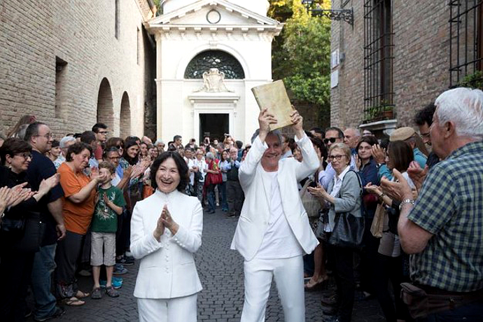 Marco Martinelli e Ermanna Montanari festeggiano quest'anno anche 40 anni di teatro insieme