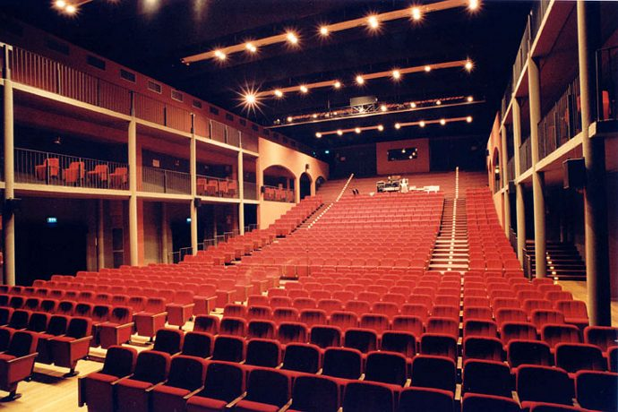 La sala grande della Città del Teatro