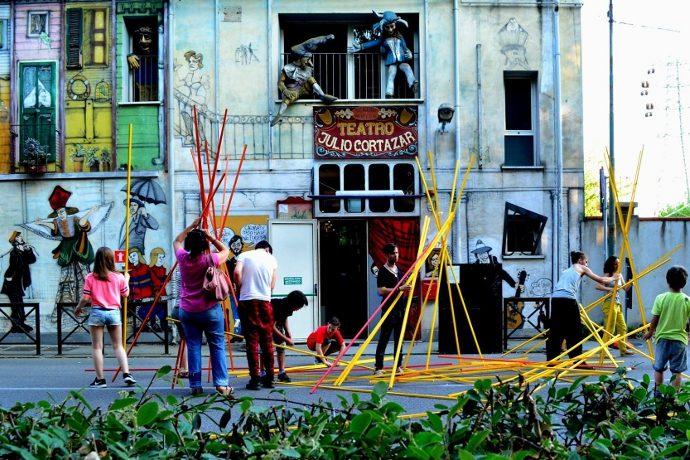 Il teatro Julio Cortazar a Pontelagoscuro (photo: Elisa Bottoni)
