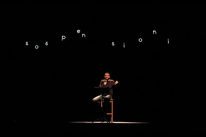 Corrado d'Elia in Poesia, la vita (photo: Chiara Salvucci)