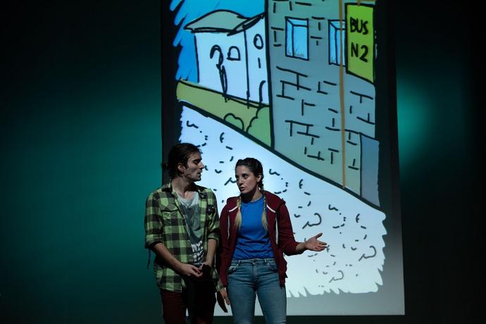 Storto di InQuanto Teatro (photo: Premio Scenario)