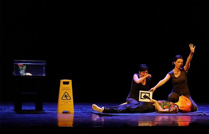 Overload di Teatro Sotterraneo (photo: Angelo Maggio)