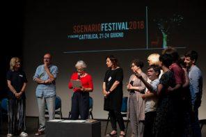 Un momento delle premiazioni (photo: Premio Scenario)