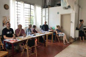 Un momento delle audizioni di fine maggio per scegliere i partecipanti a Azione 18/19