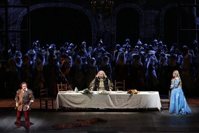 L'Ernani di Sven-Eric Bechtolf (photo: teatroallascala.org)
