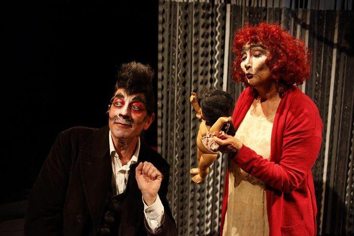 Cristina Crippa e Gabriele Calindri (photo: Luca Del Pia)