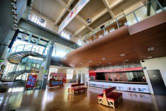 Il foyer della Casa del Teatro Ragazzi (photo: Andrea Cherchi)